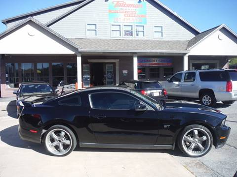 2010 Ford Mustang for sale at Talisman Motor Company in Houston TX