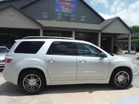2009 GMC Acadia for sale at Talisman Motor Company in Houston TX