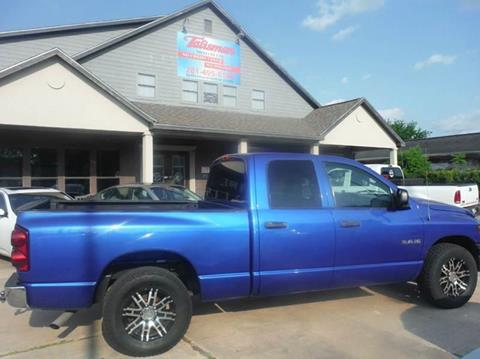 2008 Dodge Ram Pickup 1500 for sale at Talisman Motor Company in Houston TX