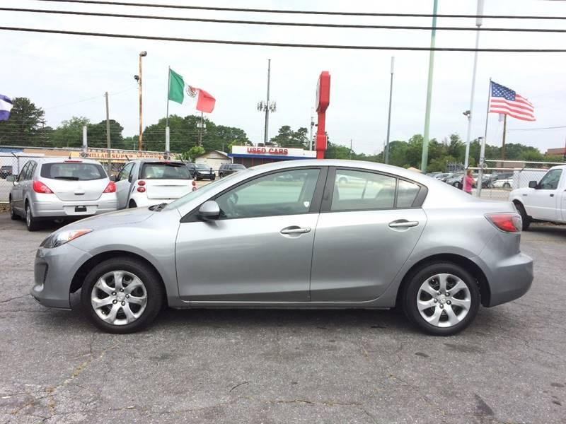 2013 Mazda MAZDA3 i Sport 4dr Sedan 6A - Atlanta GA