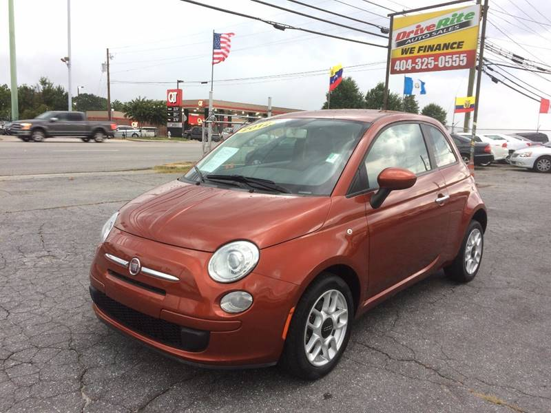 2012 FIAT 500 Pop 2dr Hatchback - Atlanta GA