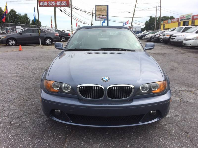 2004 BMW 3 Series 325Ci 2dr Convertible - Atlanta GA