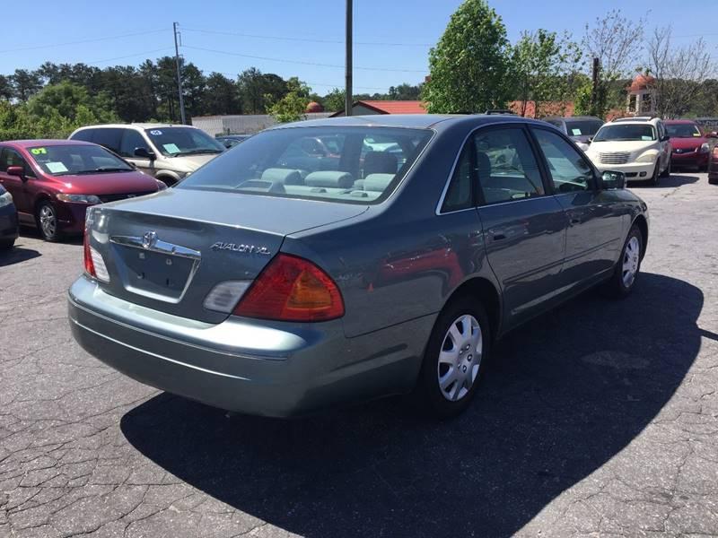 2002 Toyota Avalon XL 4dr Sedan w/Bucket Seats - Atlanta GA