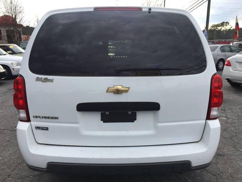 2008 Chevrolet Uplander 4dr Extended Cargo Mini-Van - Atlanta GA