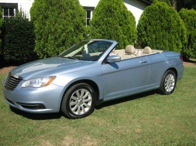 2013 Chrysler 200 Convertible for sale in Lexington, NC