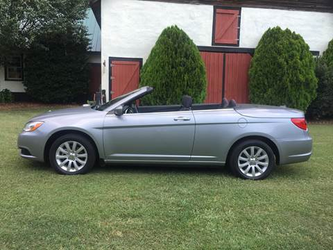 2014 Chrysler 200 Convertible for sale in Lexington, NC
