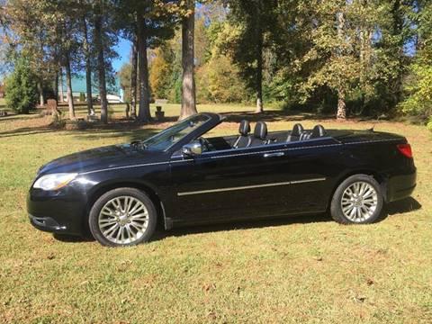 2012 Chrysler 200 Convertible for sale in Lexington, NC