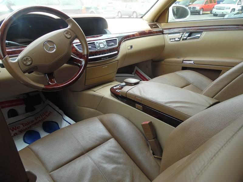 2008 Mercedes-Benz S-Class S550 4MATIC AWD 4dr Sedan - Detroit MI