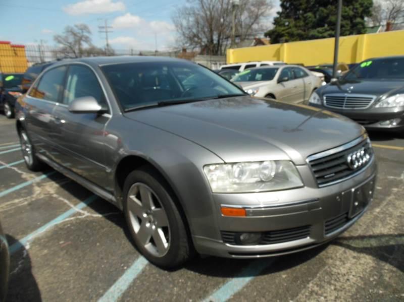 2004 Audi A8 L car for sale in Detroit