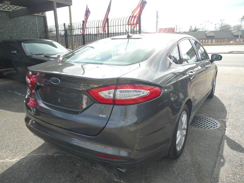 2016 Ford Fusion SE 4dr Sedan - Detroit MI
