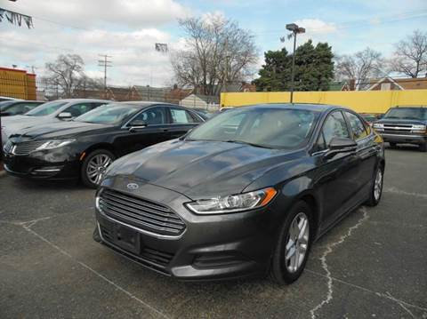 2016 Ford Fusion for sale at Gus's Used Auto Sales in Detroit MI