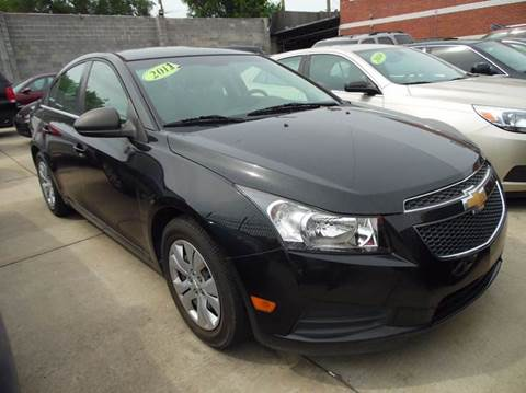 2012 Chevrolet Cruze for sale at Gus's Used Auto Sales in Detroit MI