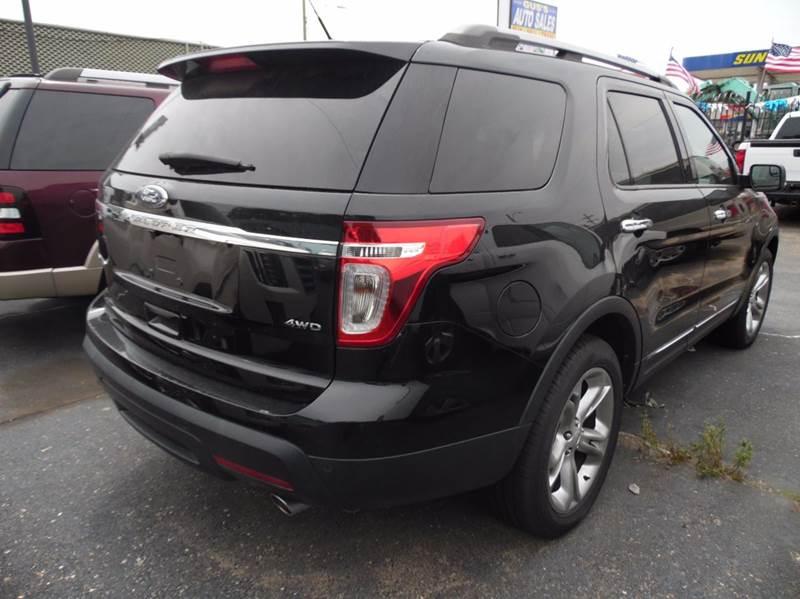 2012 Ford Explorer Limited AWD 4dr SUV - Detroit MI