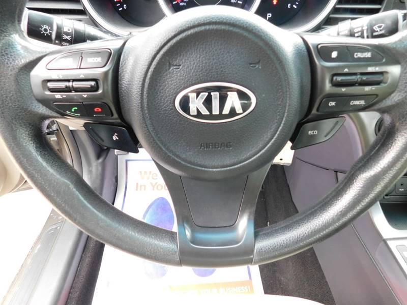 2015 Kia Optima LX 4dr Sedan - Detroit MI