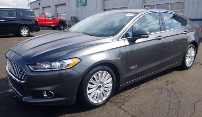 2016 Ford Fusion Energi SE Luxury 4dr Sedan - Detroit MI