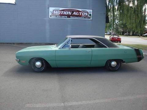 1970 Dodge Dart for sale at Motion Autos in Longview WA