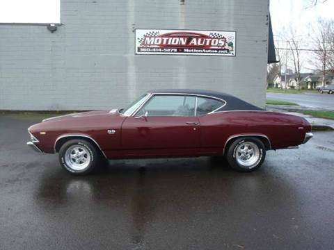 1969 Chevrolet Chevelle for sale at Motion Autos in Longview WA
