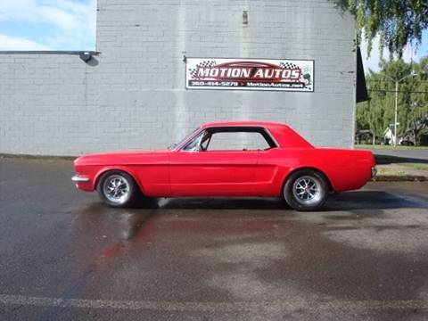 1964 Ford Mustang for sale at Motion Autos in Longview WA