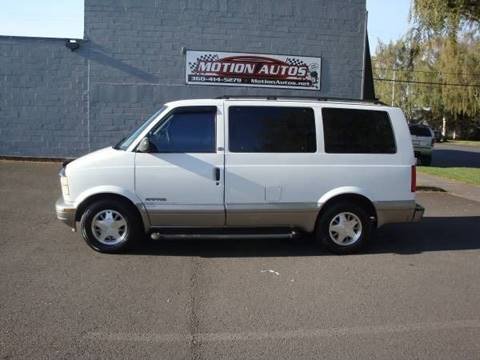 2002 GMC Safari for sale in Longview, WA