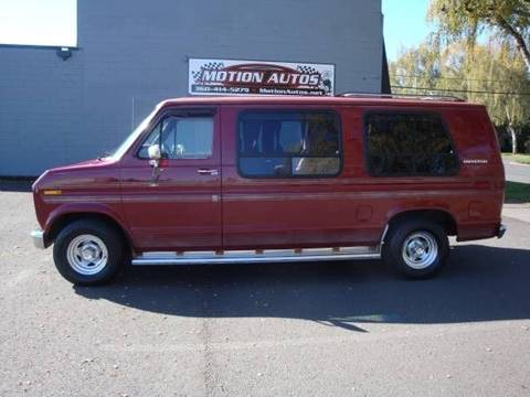 1991 Ford E-Series Cargo for sale in Longview, WA