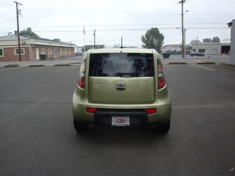 2010 Kia Soul 4-DOOR HB  4-CYL 5-SPD MANUAL 141K MI 1-OWNER - Longview WA