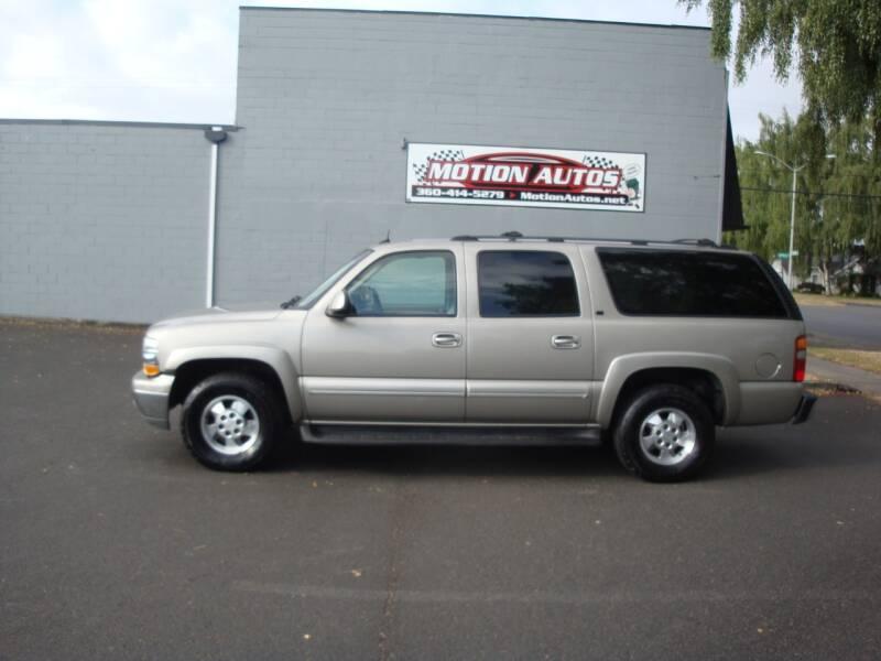2003 Chevrolet Suburban LT 4X4 5.3 MOONROOF LEATHER 184K MILES - Longview WA