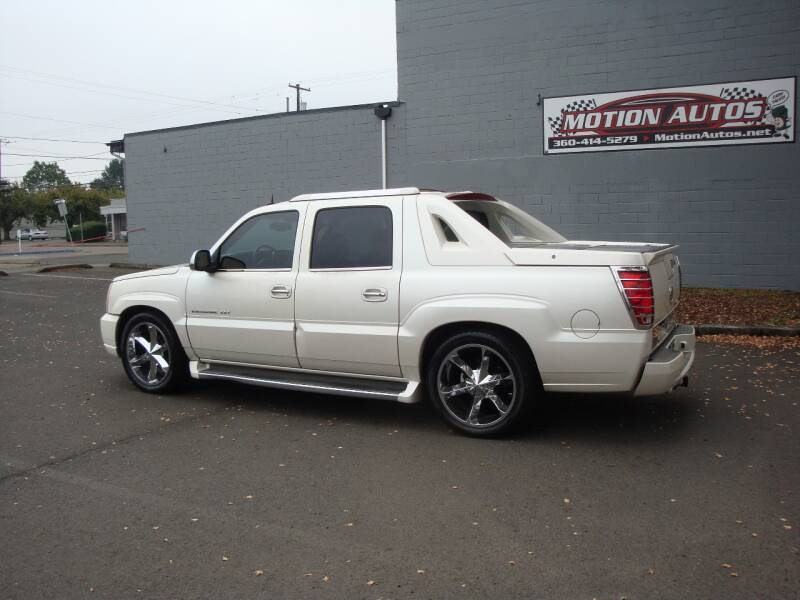 2004 cadillac escalade ext avalanche pickup 4x4 6 0 ho white 135k mile in longview wa motion autos motion autos
