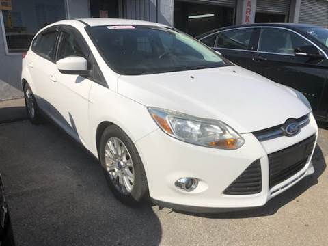 2012 Ford Focus for sale at America Auto Wholesale Inc in Miami FL
