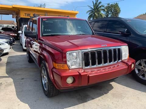 2010 Jeep Commander for sale in Miami, FL