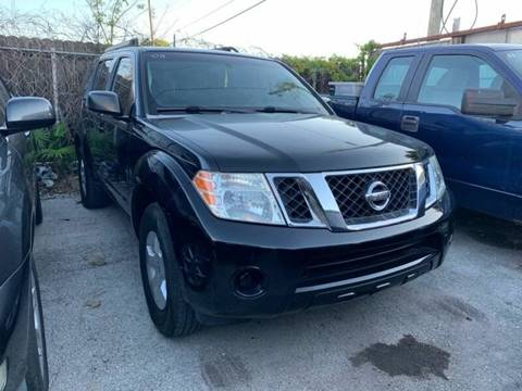 2008 Nissan Pathfinder for sale at America Auto Wholesale Inc in Miami FL