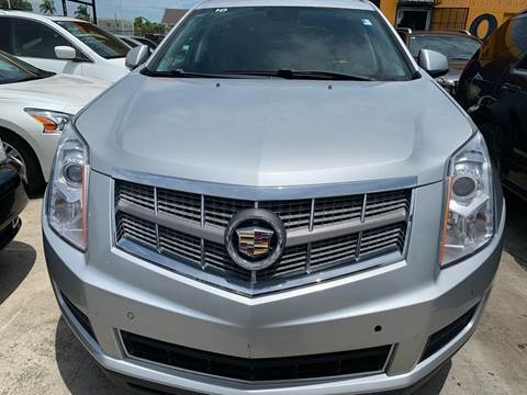 2010 Cadillac SRX for sale at America Auto Wholesale Inc in Miami FL
