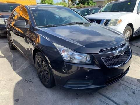 2014 Chevrolet Cruze for sale at America Auto Wholesale Inc in Miami FL