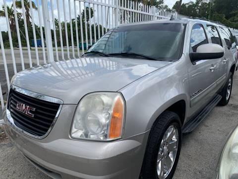 2007 GMC Yukon XL for sale at America Auto Wholesale Inc in Miami FL