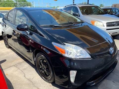 2014 Toyota Prius for sale at America Auto Wholesale Inc in Miami FL