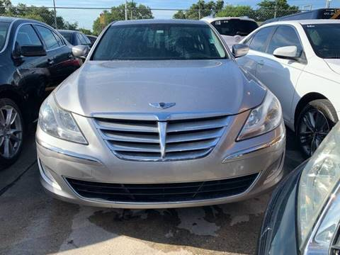 2013 Hyundai Genesis for sale at America Auto Wholesale Inc in Miami FL