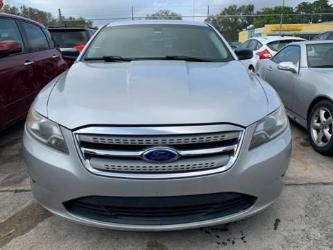 2012 Ford Taurus for sale at America Auto Wholesale Inc in Miami FL