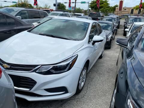 2017 Chevrolet Cruze for sale at America Auto Wholesale Inc in Miami FL