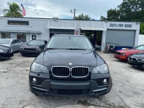 2009 BMW X5 for sale at America Auto Wholesale Inc in Miami FL