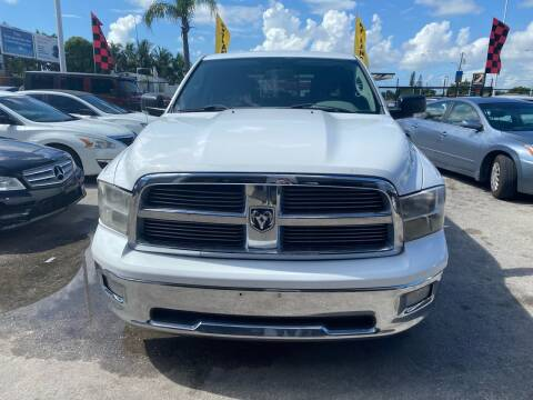 2011 RAM Ram Pickup 1500 for sale at America Auto Wholesale Inc in Miami FL