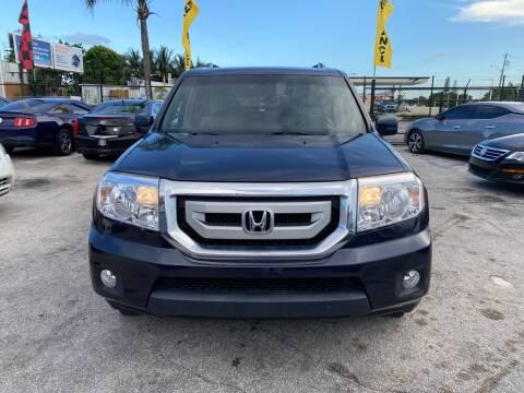 2009 Honda Pilot for sale at America Auto Wholesale Inc in Miami FL