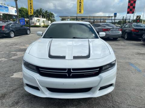 2015 Dodge Charger for sale at America Auto Wholesale Inc in Miami FL