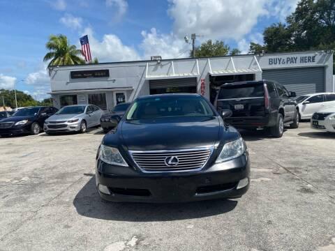 2007 Lexus LS 460 for sale at America Auto Wholesale Inc in Miami FL