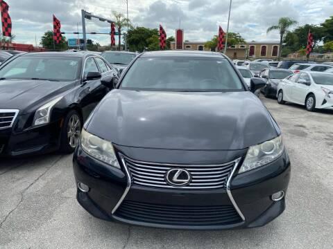 2013 Lexus ES 350 for sale at America Auto Wholesale Inc in Miami FL