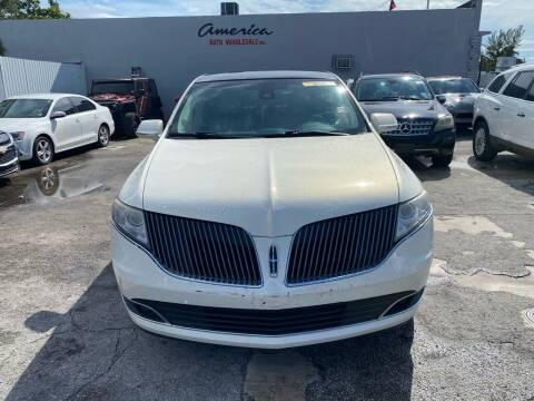 2013 Lincoln MKT for sale at America Auto Wholesale Inc in Miami FL