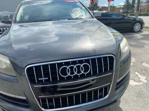 2011 Audi Q7 for sale at America Auto Wholesale Inc in Miami FL