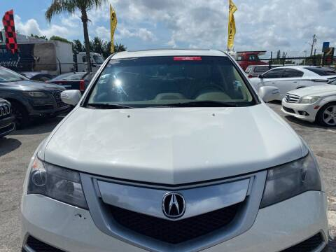 2010 Acura MDX for sale at America Auto Wholesale Inc in Miami FL