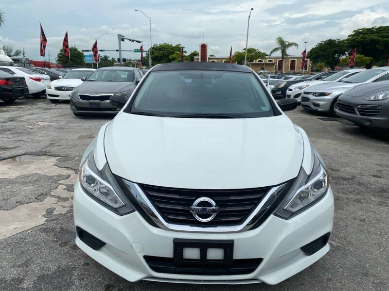 2016 Nissan Altima for sale at America Auto Wholesale Inc in Miami FL