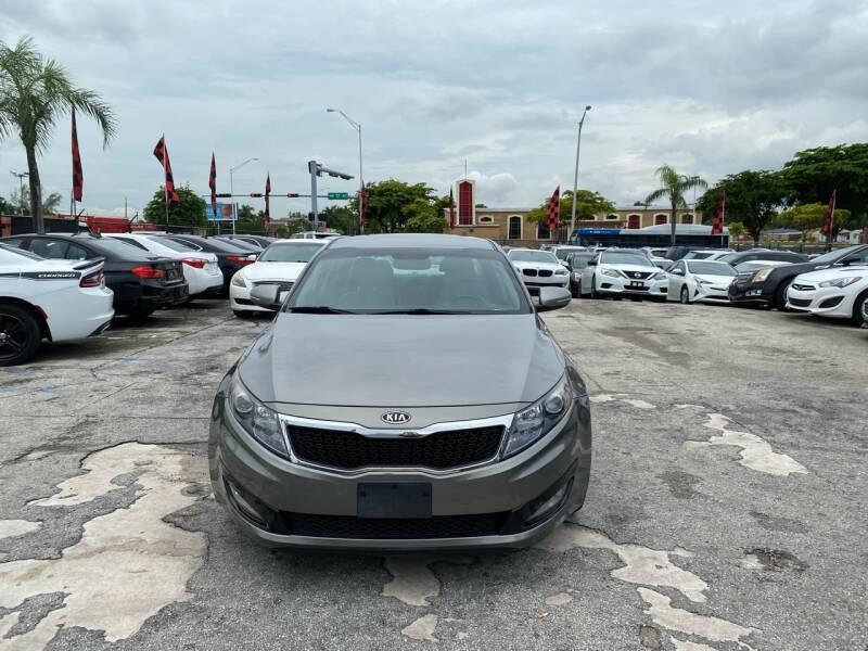 2012 Kia Optima for sale at America Auto Wholesale Inc in Miami FL