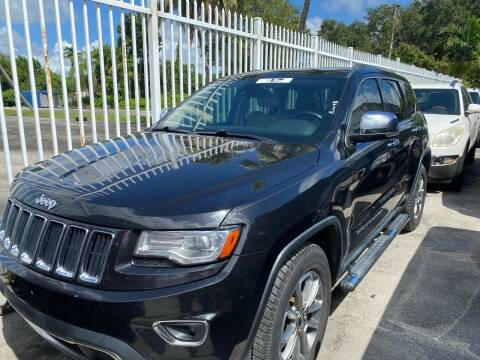 2014 Jeep Grand Cherokee for sale at America Auto Wholesale Inc in Miami FL