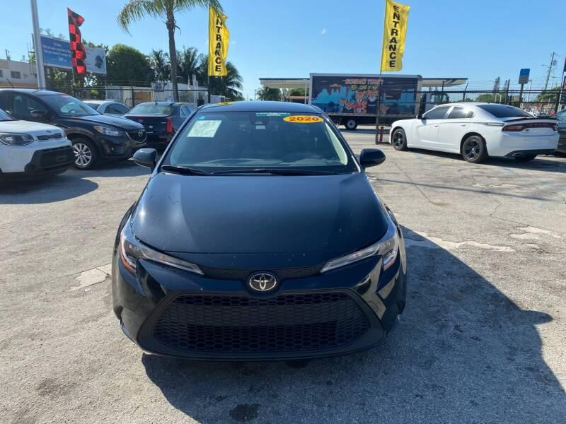 2020 Toyota Corolla for sale at America Auto Wholesale Inc in Miami FL
